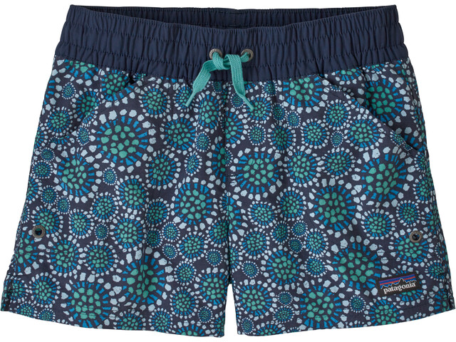 Patagonia Costa Rica Baggies Shorts Girls tencel bloom/new navy